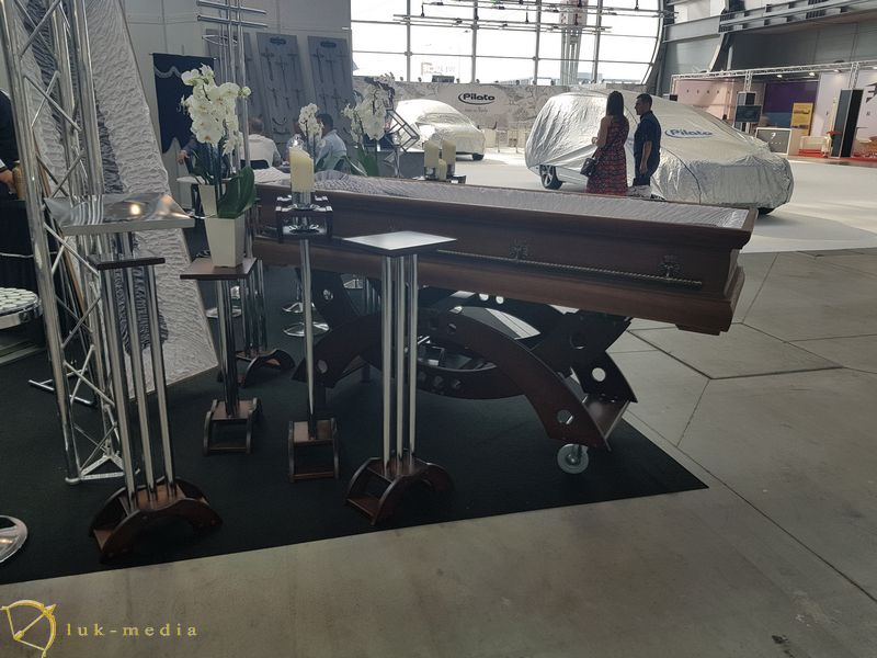 Выставка Некроэкспо 2019 в Кельце