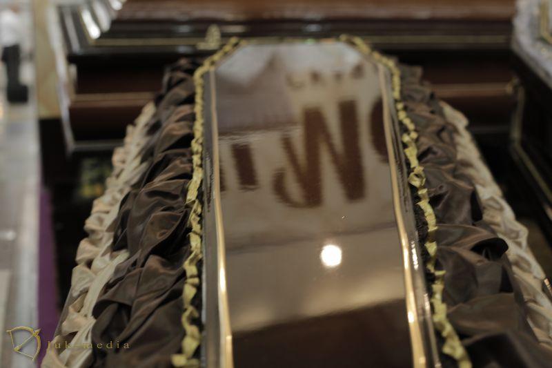 Гробы на выставке Некрополь 2018 часть первая