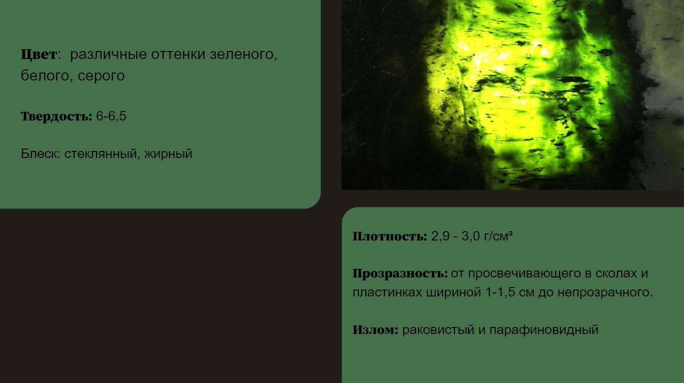 Нефрит от МИГ