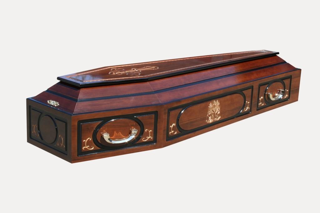 Новые модели гробов отрадненского похоронного дома