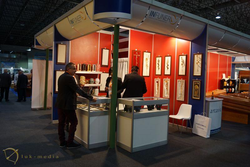 похоронная традиции на выставке Funergal-2016