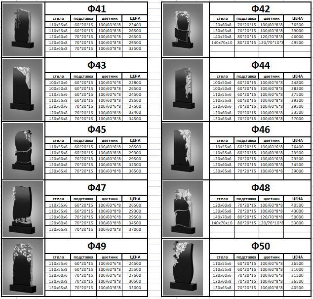 Фигурные памятники ПТК Каменный город