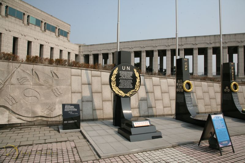 Сеул военный мемориал республики корея