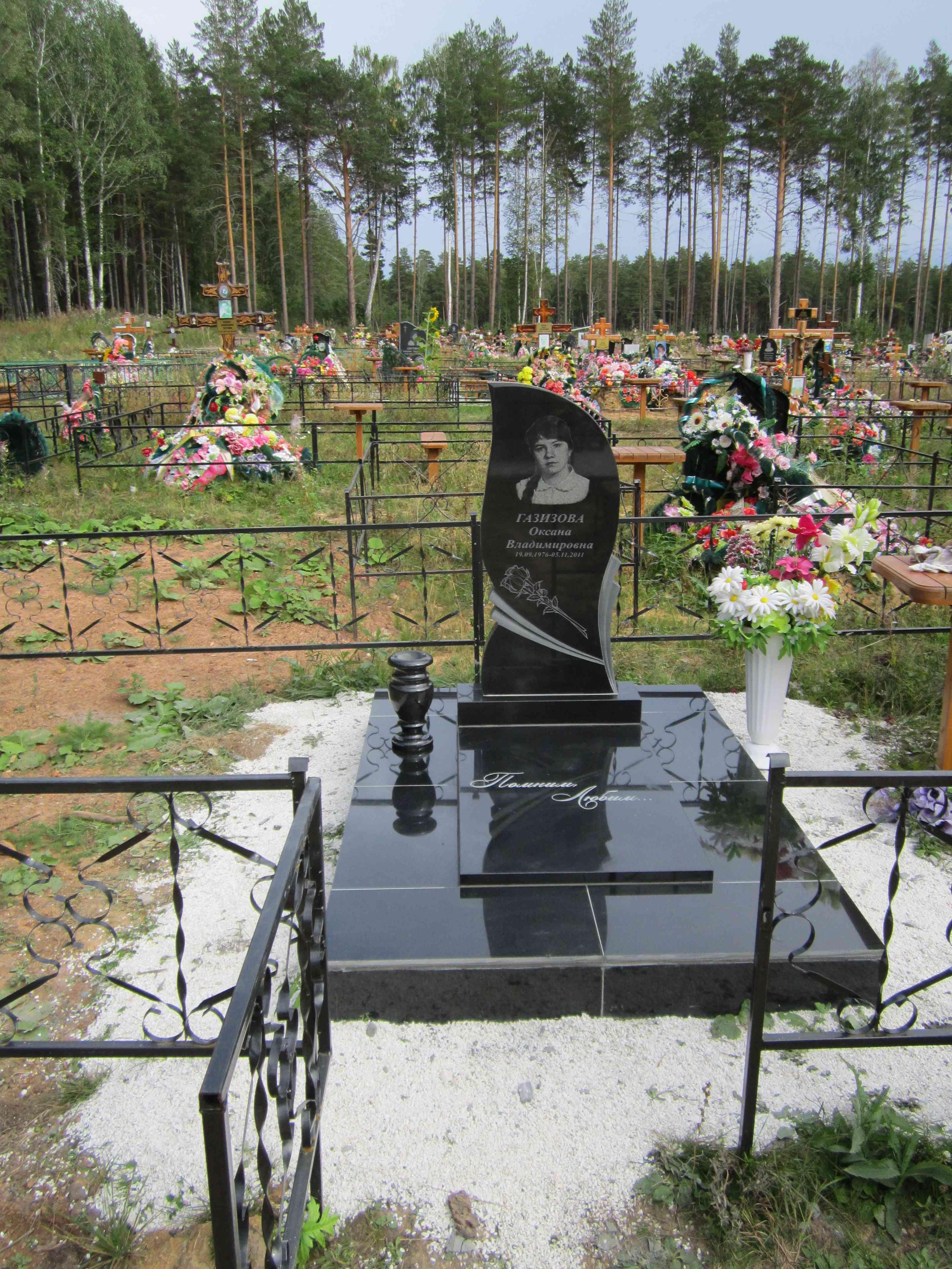 Памятник из мрамора от Сигмы