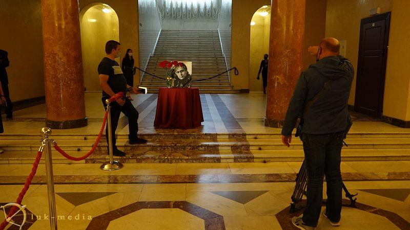 Прощание с Николаем Сличенко