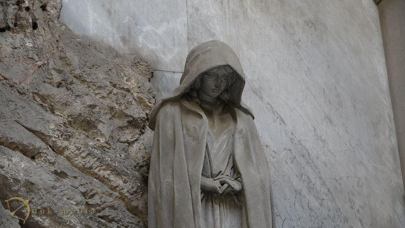Кладбище Стальенов Генуе, часть третья