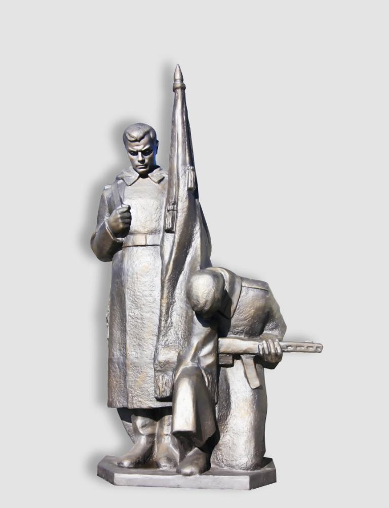 Солдат памятник от компании мемориал