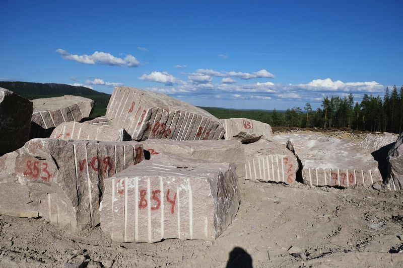 Stone Market Предлагает блоки Винга