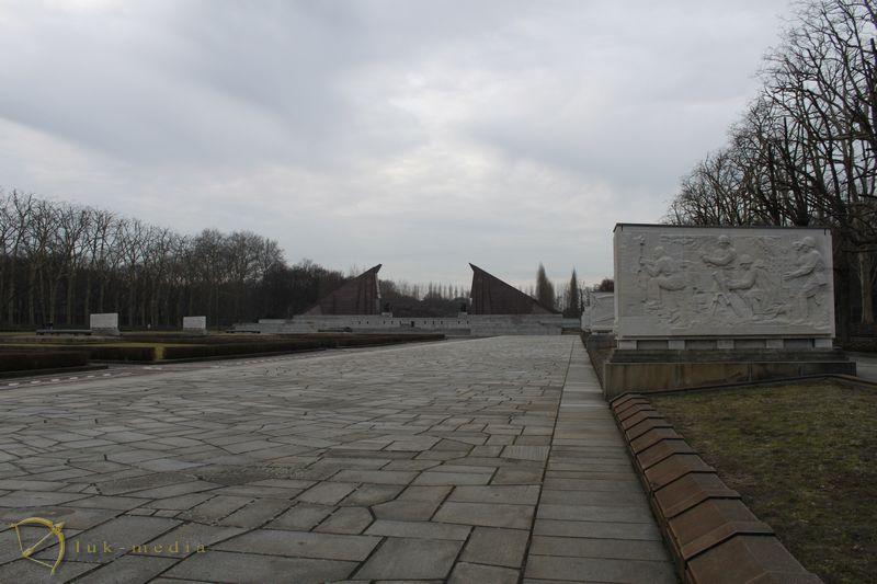 Советский военный мемориал в Трептов парке