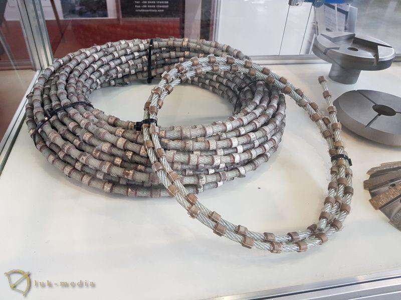 Камнеобрабатывающий инструмент на выставке Уралэкспокамень 2018