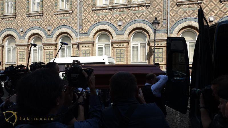 Прощание с Эдуардом Успенским
