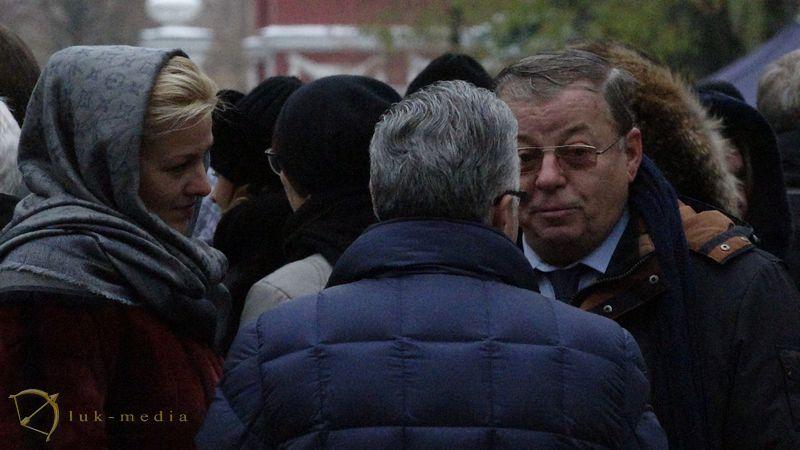 Похороны Владимира Зельдина