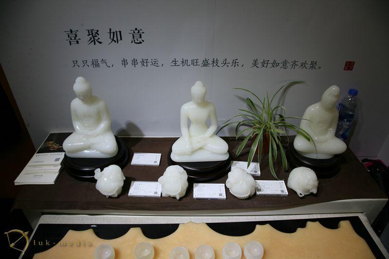 Изделия из камня на выставке в Сямыне 2017