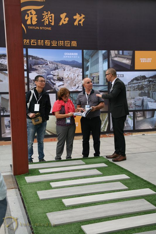 Открытие выставки в Сямыне 2017
