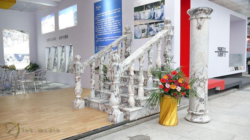 Камень в интерьере на выставке Xiamen Stone Fair 2018, часть четвёртая