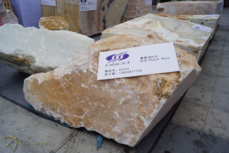 Каменныеблоки на выставе в Сямыне 2018