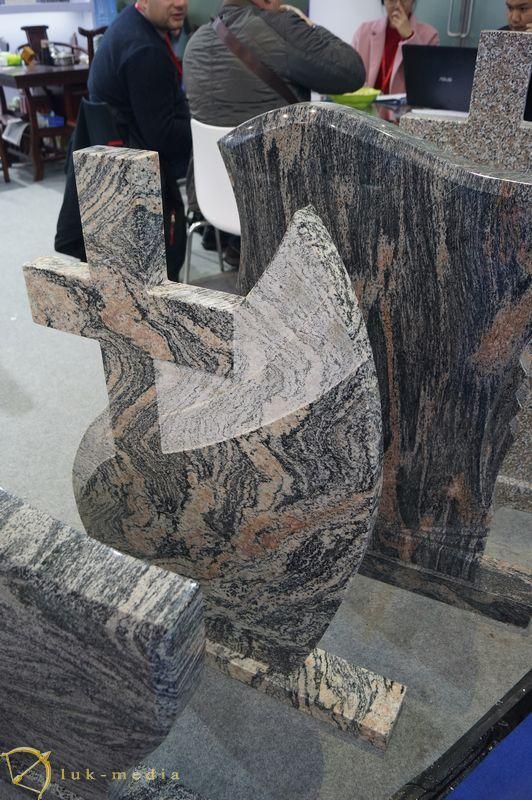 Памятники на выставке Xiamen Stone Fair 2019