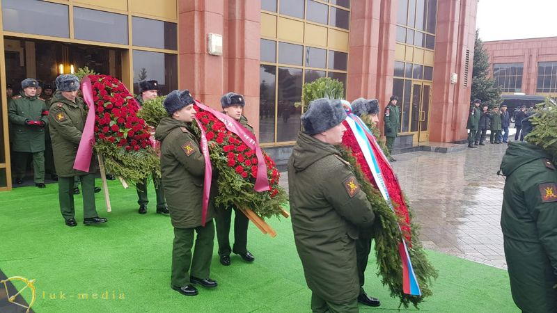 Похороны Маршала Язова