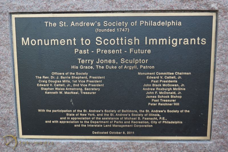 памятники филадельфии