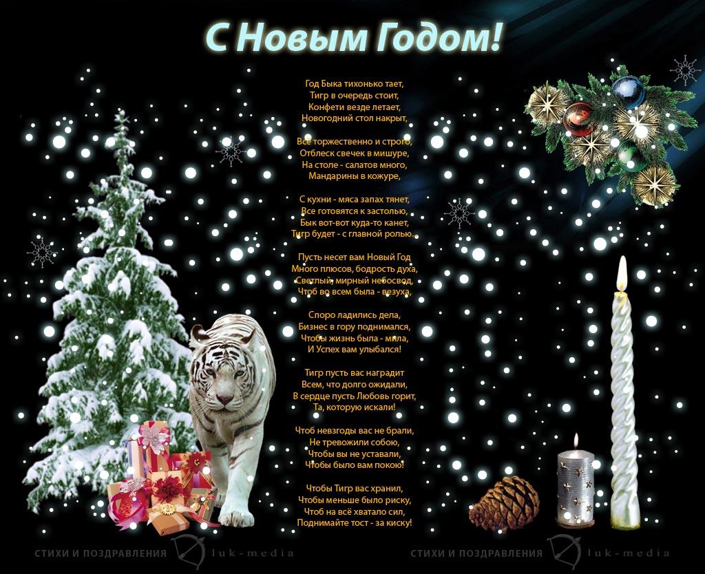 Стихи для взрослых с новым годом