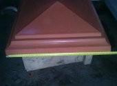 навершие пирамидка 65х65