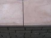 парапет плоский 45х160 в 1,5 кирпича