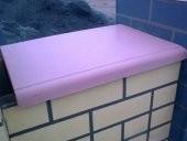 парапет плоский 45х60 в 1,5 кирпича