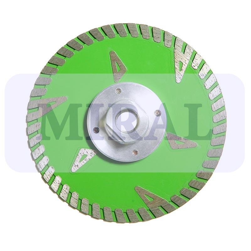 Круг алмазный для сухой резки типа SOLAR 125-2.4-8.5-22
