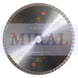 Круг алмазный для сухой резки (TSC) 230-2.4-8.0W-22