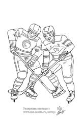 раскраска спортивные игры для мальчиков, раскраска ролики ...