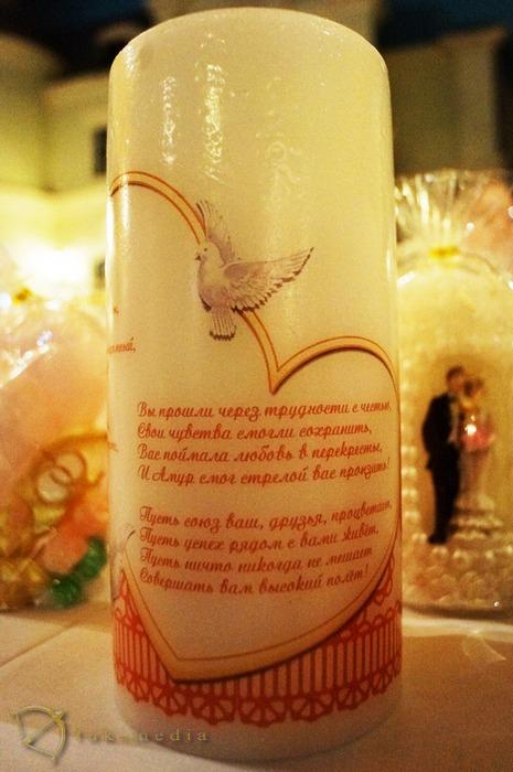 свечи свадебные со стихами купить